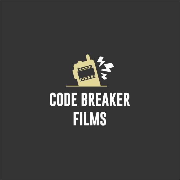 "Code Breaker Logo radio with the words ""Code Breaker Films"""